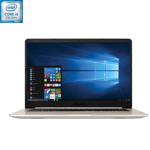 VivoBook de 15,6 po d'ASUS - Doré (Core i5-7200U 7e gén. d'Intel/DD 1 To/RAM 8 Go/Win 10) - Anglais