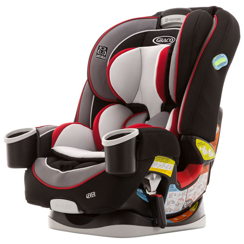 c3857dbfa311b Graco 4Ever Convertible 4-in-1 Car Seat - Cougar   Convertible Car Seats -  Best Buy Canada