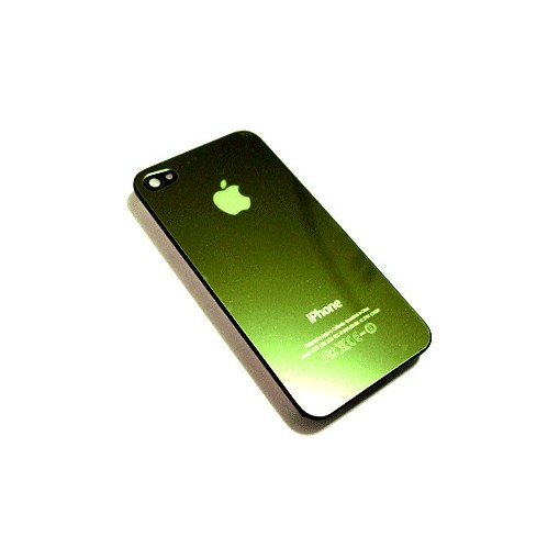Back Shiny Green Case for Apple iPhone 4