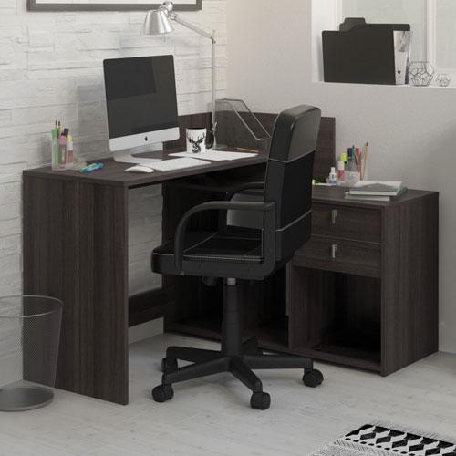 Bureau en L contemporain Demeyere Vista Bureaux et postes de