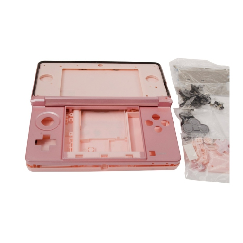 Nintendo 3DS Pink Replacement Console Housing Full Shell