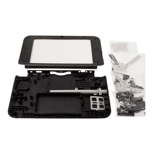 Nintendo 3DS XL LL Black Replacement Full Shell Housing - Black 3DS XL Shell