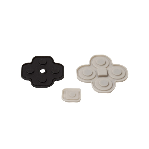 Nintendo 3DS Replacement Button Pads - Rubber Button Covers