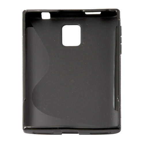 Esource Parts Fitted Hard Shell Case for Blackberry Passport - Black