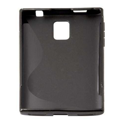 S Curve Gel Cover Case for Blackberry Passport Q30 - Black