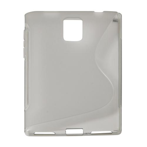 Blackberry Passport Q30 Soft Gel S-line Phone Case - Grey