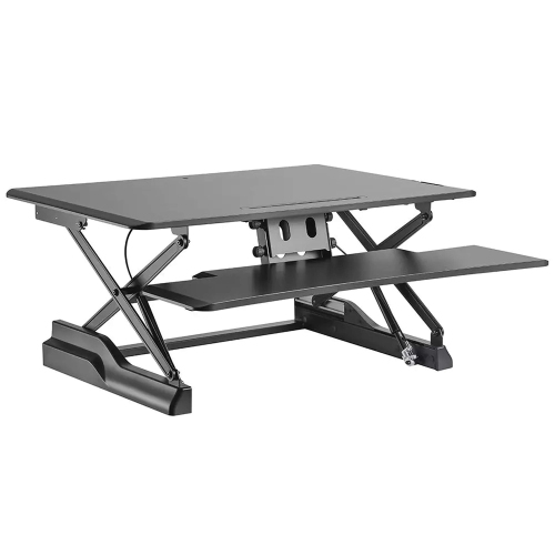 Standing Desk Riser Dual Monitor Capable High Lift Capacity