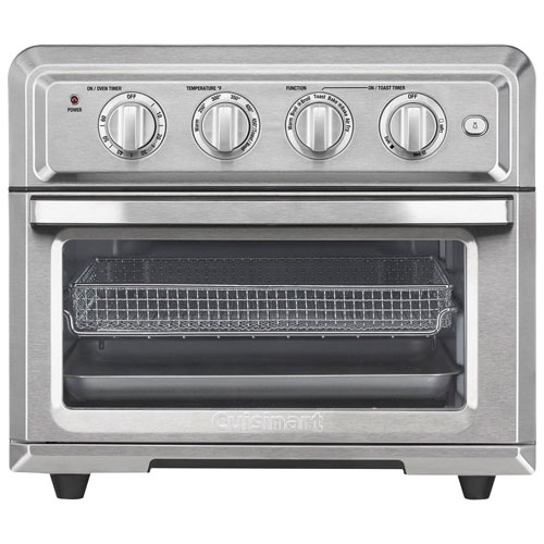 Cuisinart Air Fryer Convection Toaster Oven - 0.6 Cu. Ft. - Stainless Steel