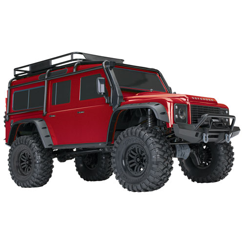 Traxxas TRX-4 4WD 1/10 Scale Trail Crawling RC Truck (82056-4) - Red