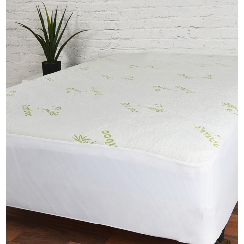 maison blanche bamboo waterproof mattress protector queen mattress pads u0026 pillow protectors best buy canada
