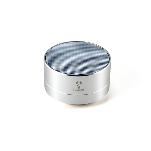 The Bullet Bluetooth Speaker, Metallic Silver