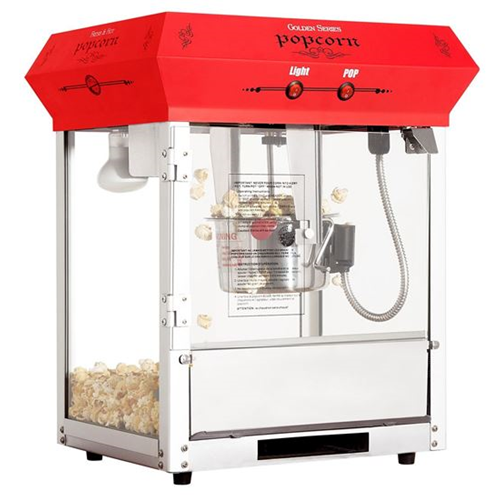 Machine à popcorn 4 oz de table Rouge Golden