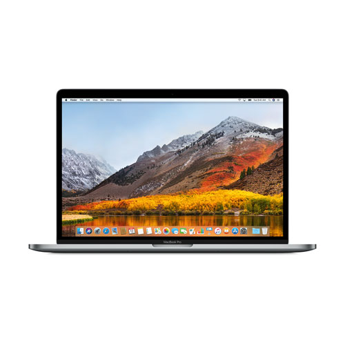 Portable MacBook Pro 15,4 po Apple/barre tactile (Core i7 2,8GHZ Intel/SSD 256 Go/RAM 16 Go)-Gris-Fr