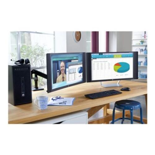 HP EliteDesk 705 G2 Desktop Computer - AMD A-Series A10-9700 3.50 GHz - 8GB DDR4 SDRAM - 1TB HDD - Windows 10 Pro 64-bit -