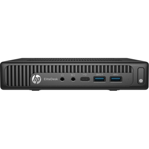 HP EliteDesk 705 G3 Desktop Computer - AMD A-Series A10-9700E 3GHz - 8GB DDR4 SDRAM - 256GB SSD - Windows 10 Pro 64-bit - Mini