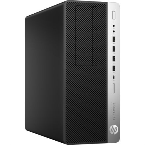 HP EliteDesk 800 G3 Desktop Computer - Intel Core i7 (7th Gen) i7-7700 3.60 GHz - 8GB DDR4 SDRAM - 256GB SSD - Windows 10 Pro