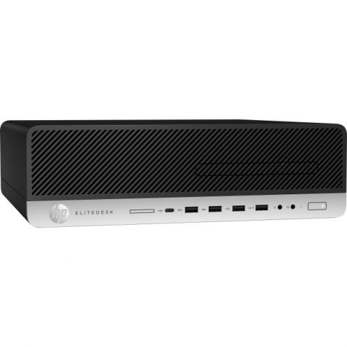 HP EliteDesk 800 G3 Desktop Computer - Intel Core i5 (7th Gen) i5-7500 3.40 GHz - 8GB DDR4 SDRAM - 256GB SSD - Windows 10 Pro