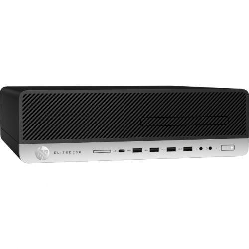 HP EliteDesk 800 G3 Desktop Computer - Intel Core i5 (7th Gen) i5-7500 3.40 GHz - 8GB DDR4 SDRAM - 512GB SSD - Windows 10 Pro