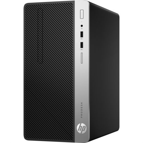 HP Business Desktop ProDesk 400 G4 Desktop Computer - Intel Core i3 (7th Gen) i3-7100 3.90 GHz - 4GB DDR4 SDRAM - 500GB HDD -