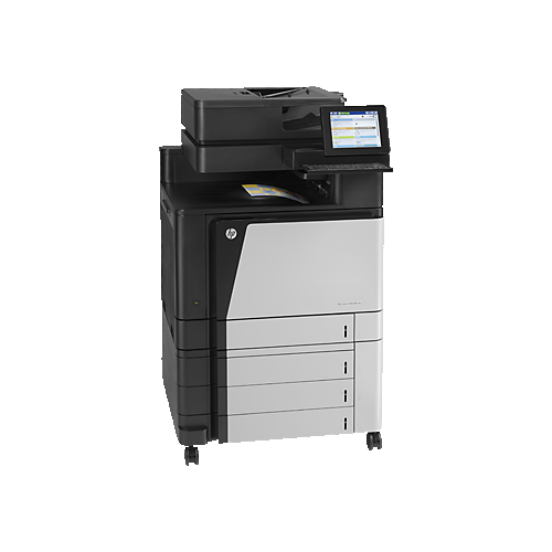 HP LaserJet Enterprise flow MFP M880z Colour Wired All-In-One Laser Printer - (A2W75A#BGJ)