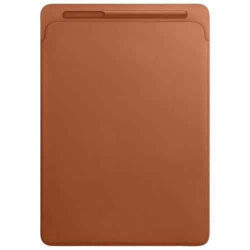Housse en cuir pour iPad Pro de 12,9 po d'Apple - Brun alezan