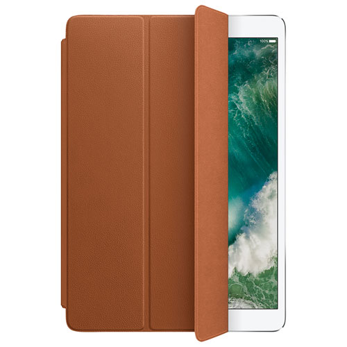 """Apple iPad Pro 10.5"""" Leather Smart Cover - Saddle Brown"""