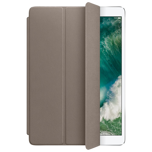 """Apple iPad Pro 10.5"""" Leather Smart Cover - Taupe"""