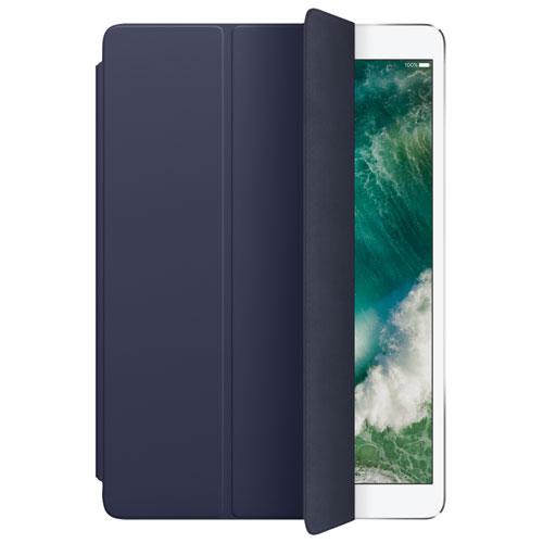 Étui Smart Cover en cuir pour iPad Pro de 12,9 po d'Apple - Bleu de minuit