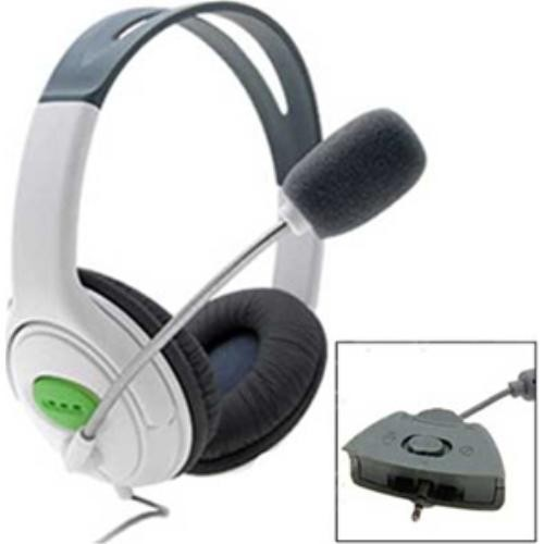 XBOX 360 Headset with microphone - White