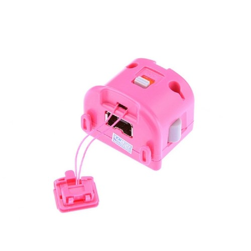 Generic Motion Plus Attachment For Nintendo Wii Controller - Pink