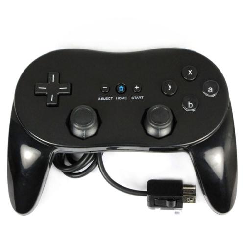 Generic Nintendo Wii Classic Controller Pro - Black