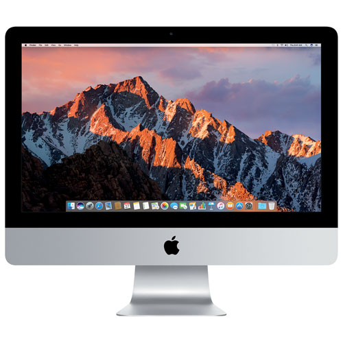 "Apple iMac (MNE02LL/A) 21.5"" Intel Core i5 Quad -Core 7th Gen 3.4GHz Computer - English"