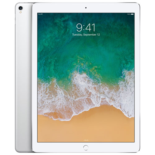 iPad Pro 12,9 po 64 Go avec Wi-Fi/LTE 4G d'Apple - Argenté