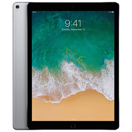 "Apple iPad Pro 12.9"" 64GB with Wi-Fi & 4G LTE - Space Grey"
