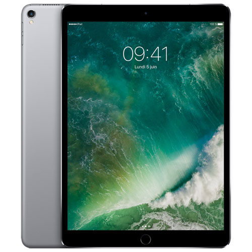 "Apple iPad Pro 10.5"" 256GB with Wi-Fi & 4G LTE - Space Grey"