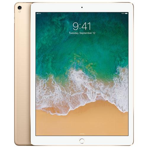iPad Pro 12,9 po 64 Go avec Wi-Fi/LTE 4G d'Apple - Doré