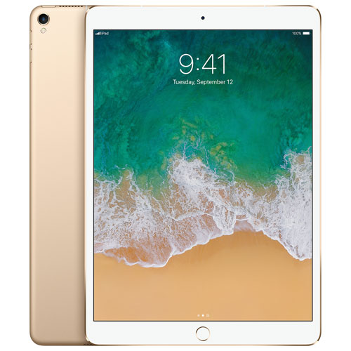 "Apple iPad Pro 10.5"" 256GB with Wi-Fi & 4G LTE - Gold"