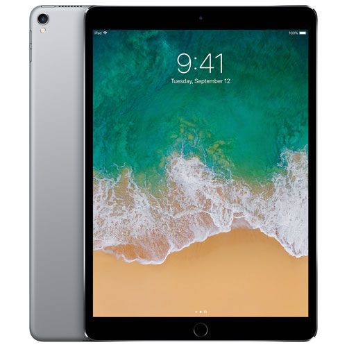 "Apple iPad Pro 10.5"" 512GB with Wi-Fi & 4G LTE - Space Grey"