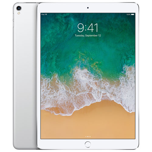 "Apple iPad Pro 10.5"" 64GB with Wi-Fi & 4G LTE - Silver"