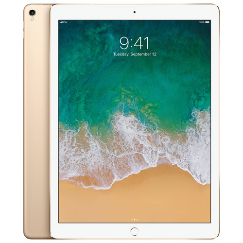 "Apple iPad Pro 12.9"" 512GB with Wi-Fi & 4G LTE - Gold"