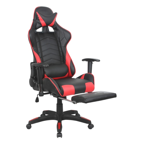 Swell Viscologic Veloce Adjustable Ergonomic E Sports Gaming Chair Black N Red Dailytribune Chair Design For Home Dailytribuneorg