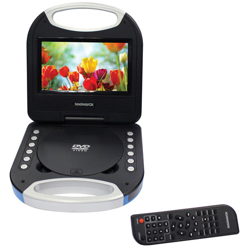 "Magnavox 7"" Portable DVD Player"