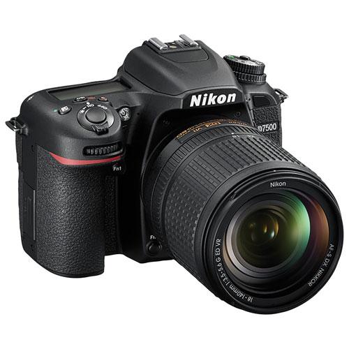 NIKON D7500 DSLR Camera with 18-140mm ED VR Lens Kit