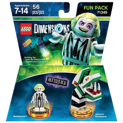 Ensemble Fun Pack de Beetlejuice de LEGO Dimensions