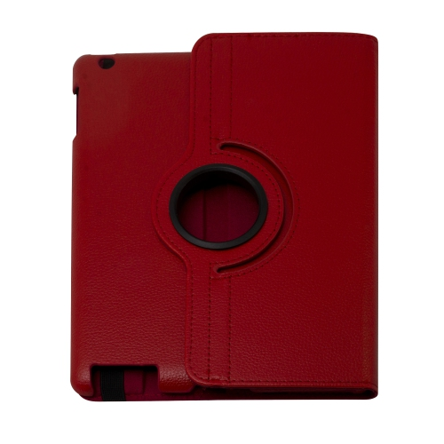 iPad (2 / 3 / 4) 360° Rotating Case - Red