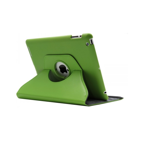 iPad (2 / 3 / 4) 360° Rotating Case - Green