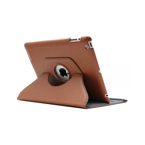 iPad (2 / 3 / 4) 360° Rotating Case - Brown