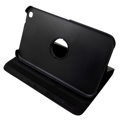 Samsung Galaxy Tab 3 T310 360° ROTATING CASE - BLACK 8""