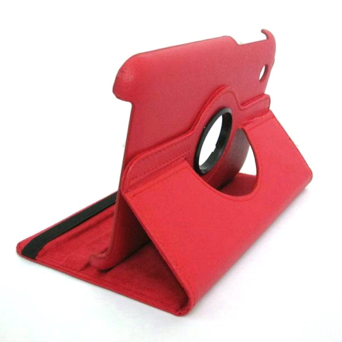 Samsung Galaxy Tab 3 T310 360° ROTATING CASE - RED 8""