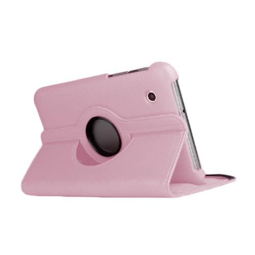 "Samsung Galaxy Tab 3 T310 360° ROTATING CASE - PINK 8"""